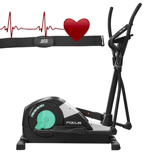 Crosstrainer - Focus Fitness Fox 3 HRC (8718627090411)